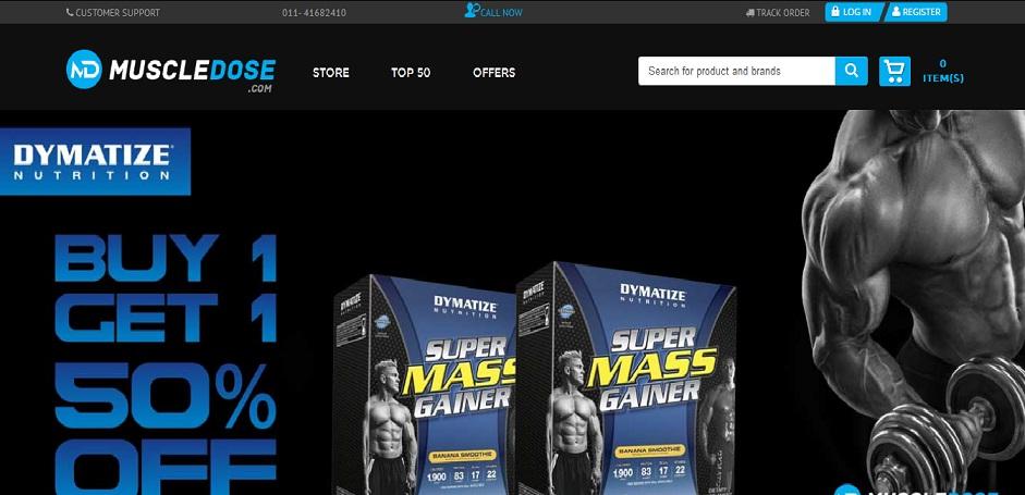 muscledose store